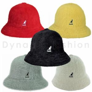 e352d8dd2a5 Image is loading Authentic-KANGOL-Furgora-Real-Fur-Casual-Bucket-Cap-
