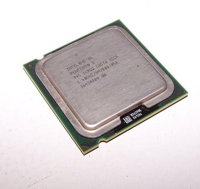 Intel Pentium D 945 Dual Core 3.4GHz CPU 800MHz LGA775/Socket T Processor