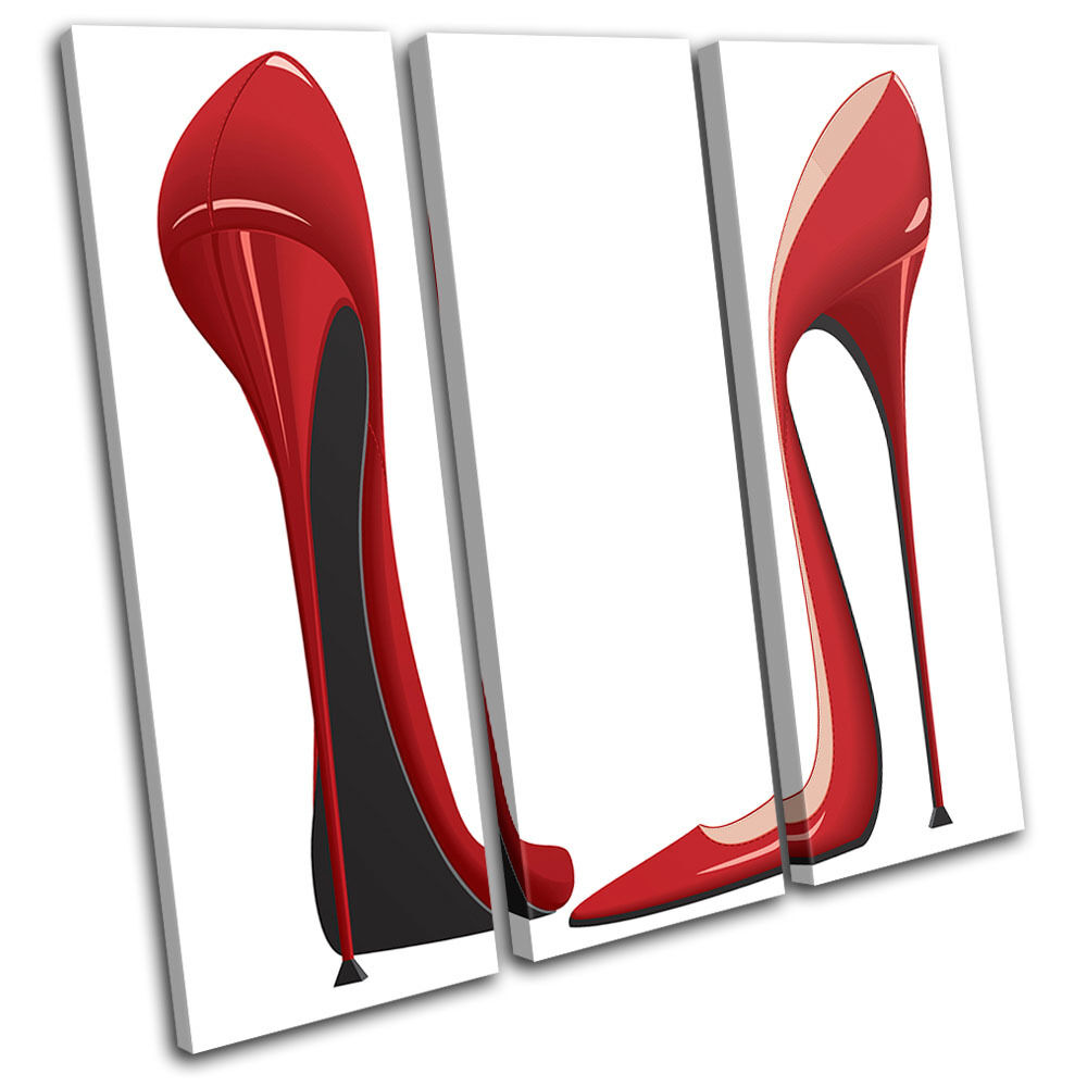 Killer Heels Fashion Fashion Fashion TREBLE TELA parete arte foto stampa dd375c
