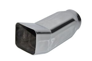 Square-Car-Universal-Tail-Pipe-Muffler-Tip-stainless-steel-Silver-tailpipe