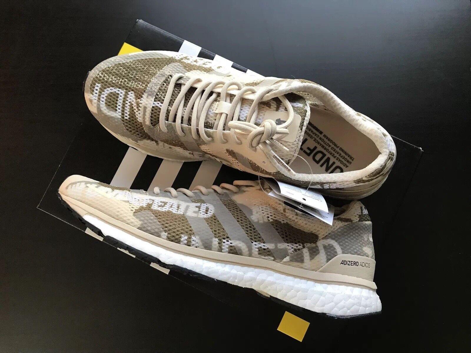 Undefeated x Adidas Adizero Adios Desert Camo size 10.5