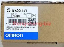 New in box Omron PLC Module  CJ1W-AD041-V1  CJ1WAD041V1