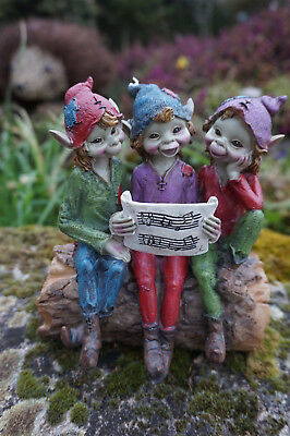 Preciso 97219 Figurine Statuette Figurine Groupe Troll Chanteur Chorale