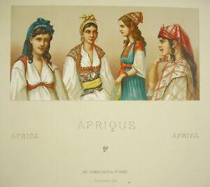 Nationalkleidung-Afrikanisch-Afrika-Africa-Muslime-Firmin-Didot-c1888