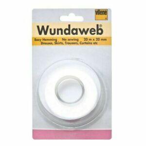 Forte-Ferro-Wundaweb-Orlatura-Wonderweb-Web-Orlo-Nessun-Tessuto-Cucito-Nastro