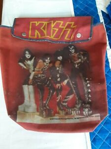 Vtg. Kiss Backpack 1977 Aucoin - Thermos