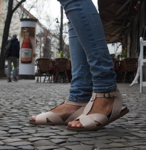 5945 Nude Sandaletten Damensandalen Lilimill Quick Neu Rose Fußbett Echtleder wpUtTnqF