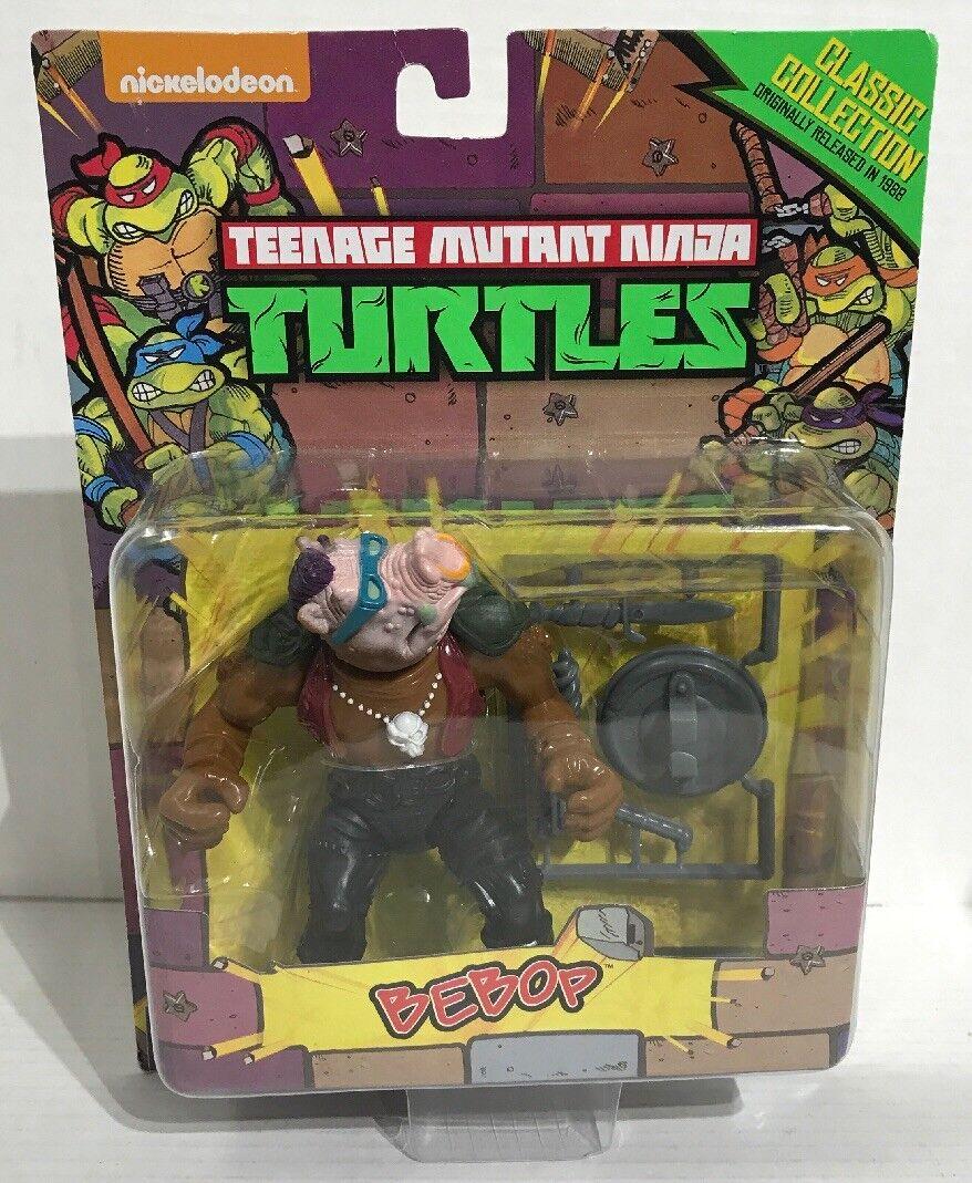 Teenage mutant ninja turtles classic collection bebop - actionfigur 4 cm