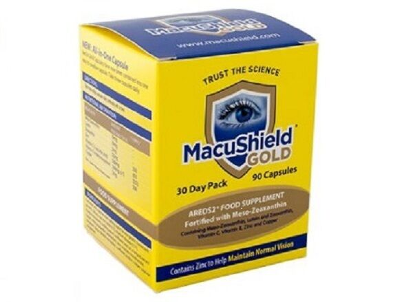 Macushield Gold 90 Capsules 1 Month Supply *Multibuy Available*