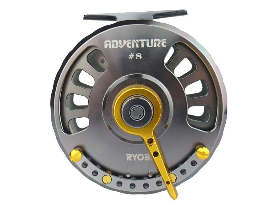 N  Ryobi Adventure  6 -  8   Fliegenrolle   Ersatzspulen verfügbar