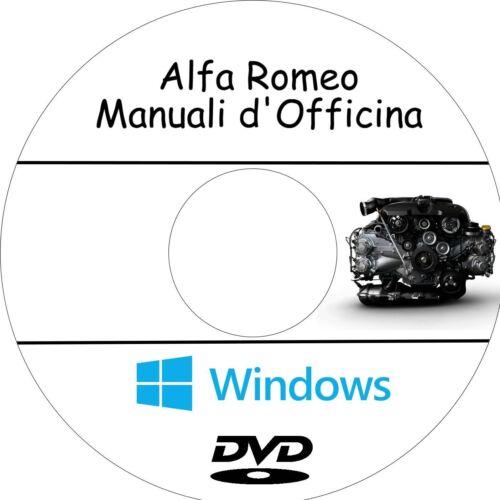 Assistenza Guarda i Modelli! Manuali Officina Interattivi ALFA ROMEO