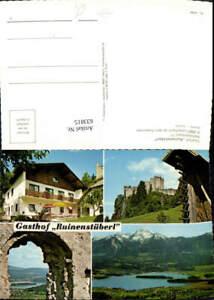 633815-Mehrbild-Ak-Latschach-ob-dem-Faakersee-Gasthof-Ruinenstueberl