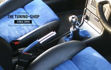 FOR VAUXHALL OPEL ASTRA G COUPE GEARSTICK HANDBRAKE GAITER LEATHER SUEDE COVERS
