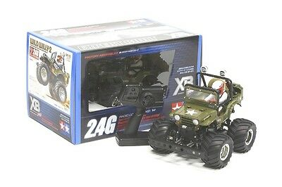 Praktisch Tamiya 57743 Xb Pro Wild Willy Ii Jeep Ready Built, Ready To Run Rc Car 2.4ghz