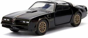 1-32-1977-Pontiac-Firebird-Smokey-amp-Bandit-DIECAST-metal-coche-modelo-jada-Toys