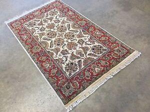 2 11 X 5 2 Beige Red Ziegler Oriental Area Rug Hand Knotted Wool Ebay
