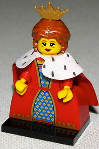 LEGO NEW SERIES 15 QUEEN 71011 MINIFIGURE CASTLE MINIFIG FIGURE Figurki LEGO