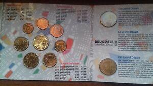belgique coffret BU 2019 8 pièces + 2 x 2,50 euros