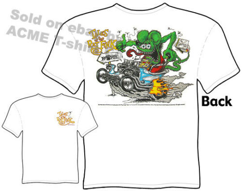 ED Roth Outlaw ratfink Shirt Hot Rod T-shirt Big daddy clothing Tales of the Fink