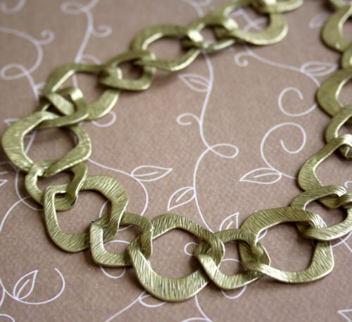 1 metre Antique Gold Fancy Big Links Chain