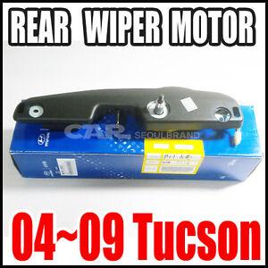 Hyundai-2004-2009-Tucson-Rear-Windshield-Wiper-Motor-Genuine-98700-2E001