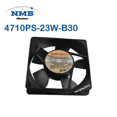For NMB 4710PS-20T-B30 Aluminum frame AC Cooling fan AC200V 14//11w 120*120*25mm