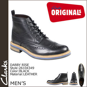 9 Clarks Smart Mens 10 8 Trendy Rise X G nera in Darby 11 pelle Uk rTqRra1