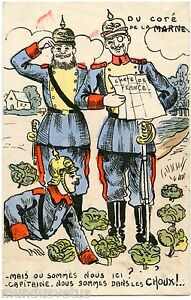 War War Caricature Satire Propaganda Kaiser Wilhelm Ii The Marne