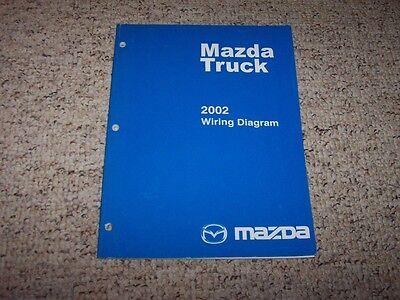 2002 Mazda B-Series Truck B2300 B3000 B4000 Electrical ...