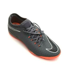 buy online a983c b1c33 Details about Nike AH7282-081 Hypervenom X Phantom III Pro IC Indoor Soccer  Shoes Gray Size 12