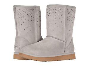 e29ec49ec2f Details about Women's Shoes UGG CLASSIC SHORT STARGIRL Boots 1098474 SEAL  *New*