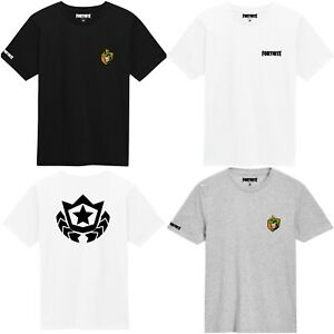 Kids' Clothes, Shoes & Accs. Fortnite Official Logo Boys Black T-shirt Battle Royale Top Gamers Tee Moderate Price T-shirts, Tops & Shirts