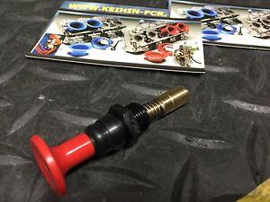Yuquanxin Flachschieber Vergaser//Hot Start Ventil//Hot-Start-Knopf for Keihin FCR-MX Dauerhaft Color : Black