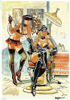 Félix Meynet ex libris BDSM fetish n°3
