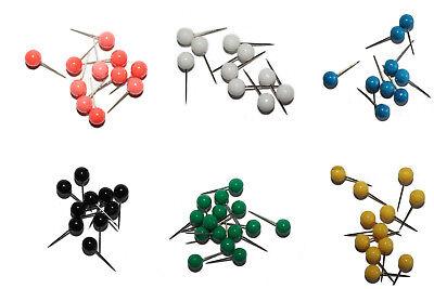 Farblich Sortiert Von Der Konsumierenden öFfentlichkeit Hoch Gelobt Und GeschäTzt Zu Werden 50 Stück Gelernt Stecknadeln Nadeln Markiernadeln