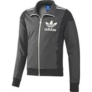 adidas originals adi big trefoil track top trainingsjacke. Black Bedroom Furniture Sets. Home Design Ideas