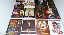 clint eastwood  collection : lot 12 affiches cinema