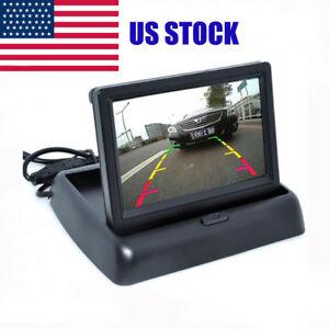 Car Rearview Mirror Monitor 4.3 inch 16:9 screen Car Monitor for Backup Camera