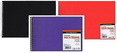 A3 DALER ROWNEY SPIRAL BOUND GRADUATE SKETCH BOOK ARTIST CARTRIDGE PAPER ART PAD