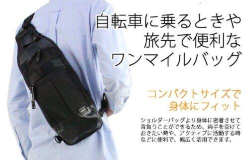 New PORTER HEAT ONE SHOULDER BAG Yoshida bag 703-08000 Black From Japan