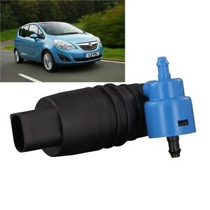 2012 onward 2011 Front /& Rear Windscreen Washer Pump Vauxhall Meriva Mk2 2010