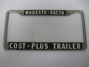 Cost Plus Trailer Modesto Ca Metal Embossed License Plate