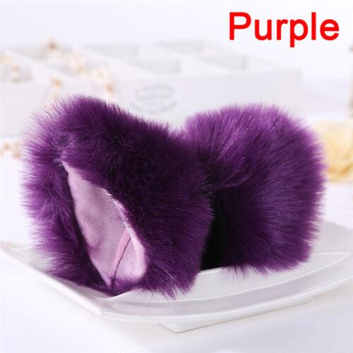 Night Party Club Ball Wearing Deacorate Cat Fox Fur Ear Pattern Hair Clip Bell~!