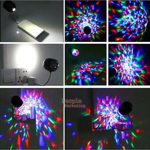 P4PM-USB-RGB-Auto-Rotating-Stage-Light-DJ-Disco-Bar-Crystal-4W-LED-Ball-Bulb-La