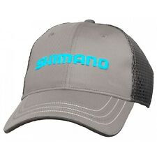 Shimano• Honeycomb Mesh Cap Adjustable Fishing Hat Grey--Free Shipping