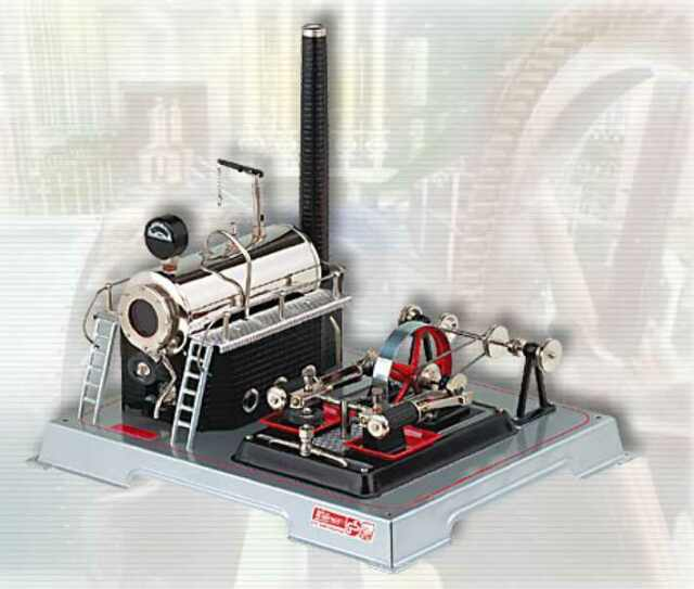 UK-SPECIAL: WILESCO D22 TOY STEAM ENGINE - NEW + FREE SHIPPING
