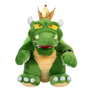 Details About The Adventures Of Super Mario Bros 3 King Koopa Bowser Plush Doll Toy 12 Inch
