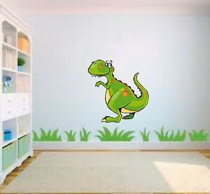 Dinosaurio Dibujos Animados Cuarto Del Bebé Dormitorio Para Niños ...
