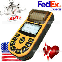 Fda Ecg80a Portable Ecg Machine Single Channel Electrocardiograph 12 Leads, Us