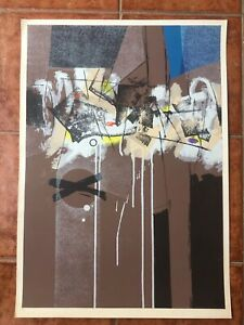 Serigraph by Antonio Vidal. Original Signed. Untitled. Numbered. Cuba